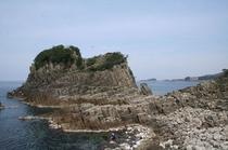 越前海岸 鉾島