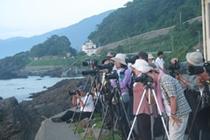 日本の夕日百選 越前海岸 撮影