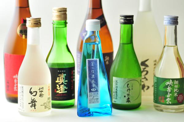 種類豊富な信州の地酒