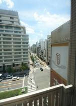 711号室からの眺望