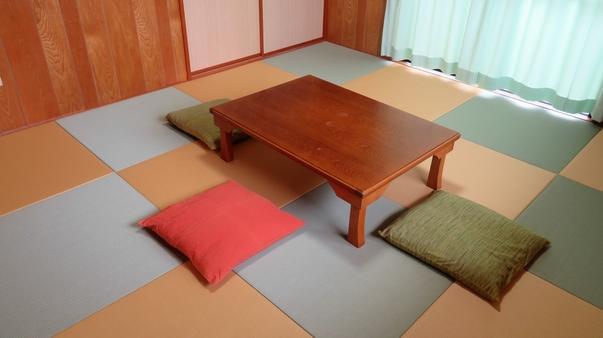 琉球畳和室8畳 キッチン/冷蔵庫/電子レンジ/洗濯機付