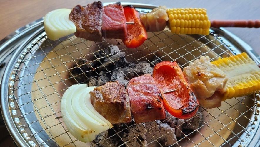 ■屋内BBQプラン(ブロシェット)■
