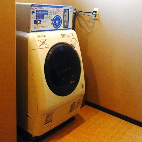 【男性脱衣場】全自動洗濯機ございます ※有料