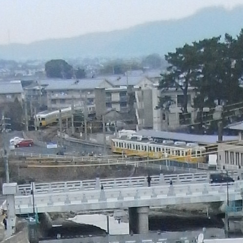 【ことでん琴平駅】ホテルから徒歩約2分