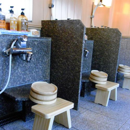 【大浴場】洗い場 (一例)