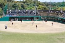 ソフトボールグラウンド