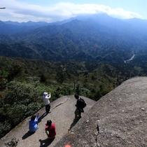 【太鼓岩】標高1050メートルからの壮大な景色と眺めを体感!