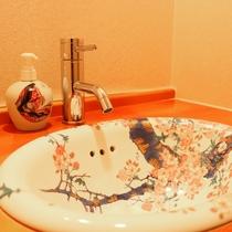 【家族風呂 洗面台】