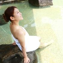 【露天風呂】