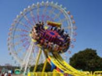 人気No.1の絶叫マシーン ディスク・オー【海浜公園】