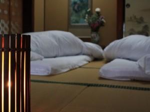 お部屋と寝具