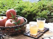 フレッシュなリンゴジュース