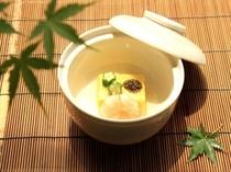 料理長渾身の一皿『とうもろこし豆腐』