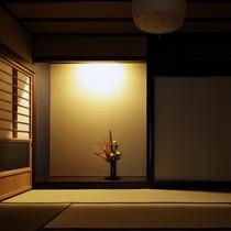 <月庭 -TSUKITEI->床の間