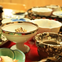【こだわりの朝食】『華かご御膳』