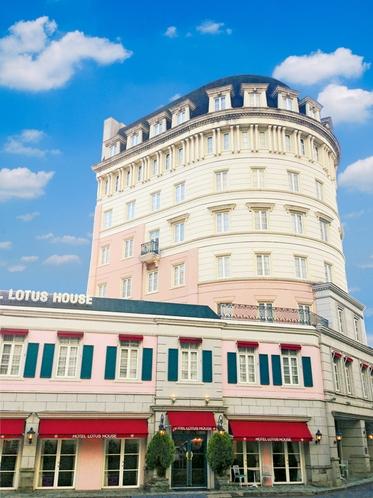 ホテルロータスハウス佐世保の外観