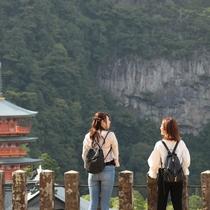 「三重の塔」と日本一を誇る名瀑「那智の滝」