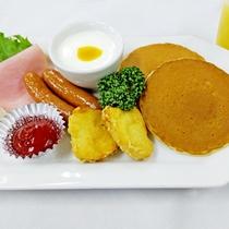 朝食(キッズプレート)