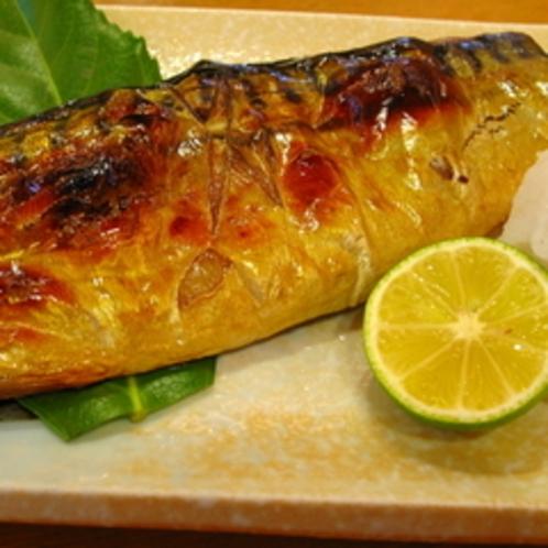 人気の焼き魚定食
