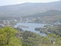 ビーナスラインと白樺湖