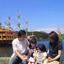 海賊船と家族