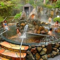 ユネッサンコーヒー風呂