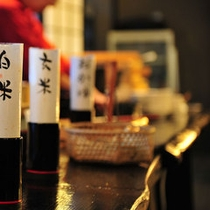 朝夕共に会津の美味しいお米を3種類ご用意しております。
