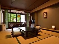 一例【木の温もりが心地よい和室】10〜12畳バス・トイレ付