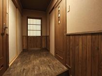 一例【木の温もりが心地よい和室】10〜12畳バス・トイレ付 一例