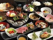 【ご夕食】創作会津郷土料理の一例