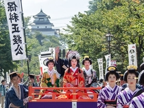 【会津まつり】毎年9月下旬に開催される会津最大の祭り。 (当館より車で約15分)