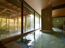 ●猿の湯 露天風呂が併設されております。新撰組 土方歳三ゆかりの温泉をお楽しみください。