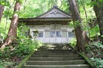 会津・羽黒山神社 創建は奈良時代の天平年間(729~749)、行基菩薩によって勧請されたのがはじまり