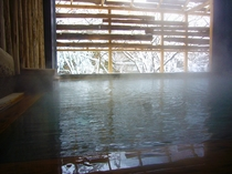 わたり湯 冬景色