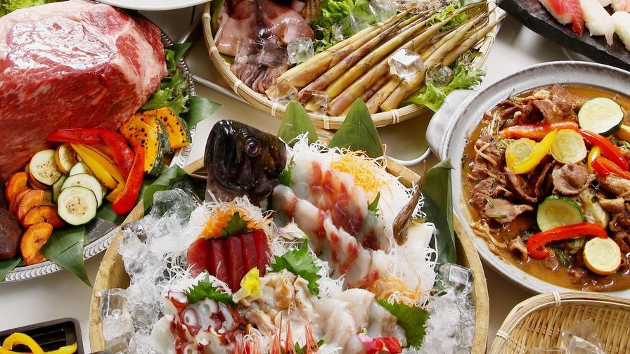 【オールインクルーシブ】ふらの産食材野菜やチーズ♪&ワイン♪飲み放題■朝食はいくらかけ放題も
