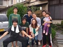家族グループ8人