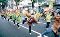 青葉祭りすずめ踊り
