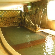 【内湯】湯治にもご利用頂ける良質の天然温泉♪