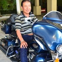 *実は、主人もバイク好き!ご相談頂けたらツーリングお勧めコースをご案内致します!