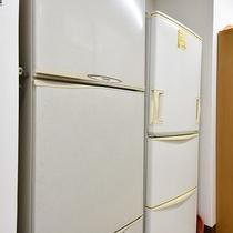 *【施設内設備:炊事場】冷蔵庫もご自由にお使い下さい。