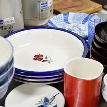 *【施設内設備:炊事場】食器類もご自由にお使いいただけます。