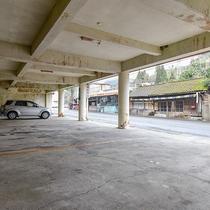 *【駐車場】バイカーさんも嬉しい!屋根付きの駐車場。