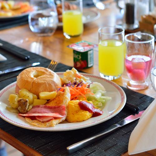 *ご朝食一例/ビュッフェなのでお好きなものをどうぞ♪