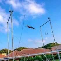 *空中ブランコ/クラブメッドならではのエキサイティングなアクティビティーに挑戦してみませんか。