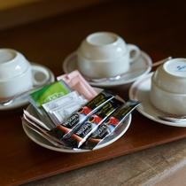 客室備品/コーヒー&お茶セット