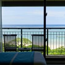 デラックスシービュー(一例)/海がすぐそこ!最上階から眺める海に感動!