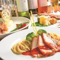*お夕食一例/見た目にも味付けにもこだわった一品。味わってお召し上がり下さい。