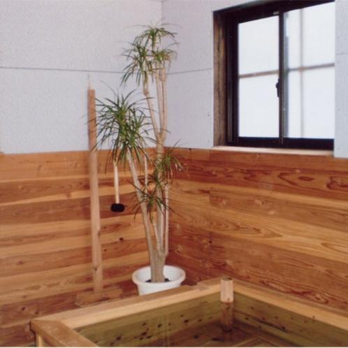 浴室(檜風呂)
