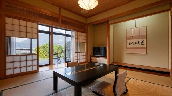 別邸牡丹:露天&内湯付離れ和洋室 10畳+ベットルーム/禁煙
