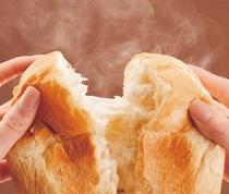 ホテルで焼いたパン